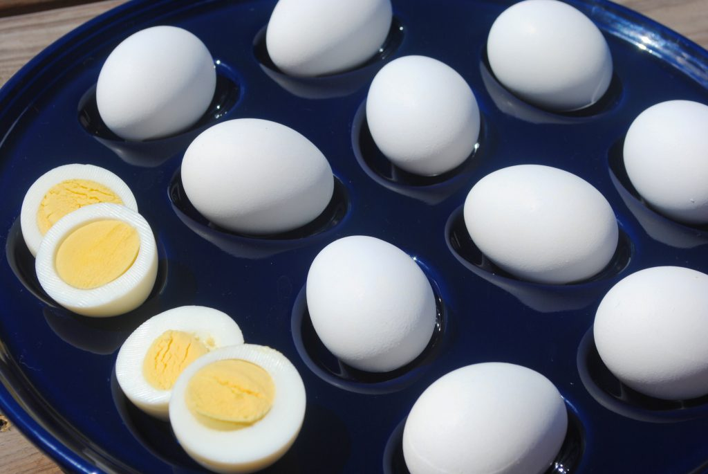 5-5-5 Instant Pot Hard Boiled Eggs