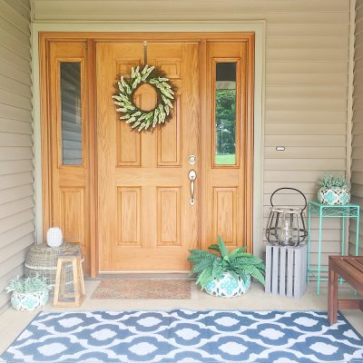 Summer Front Porch Reveal