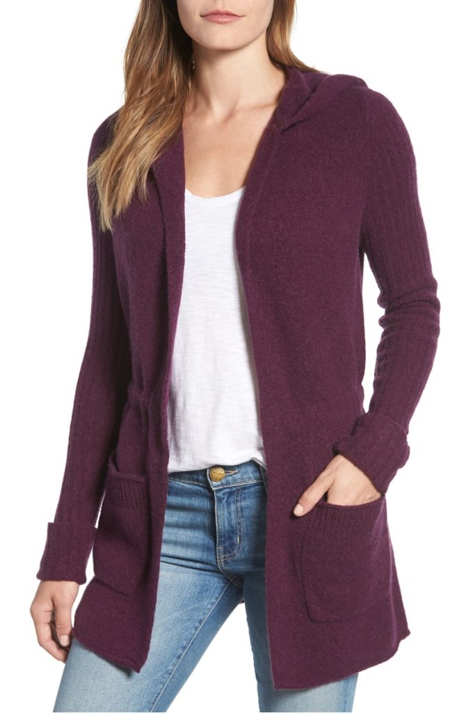 Carlson Hooded Cardigan