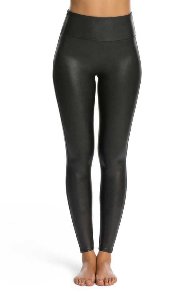 Spanx Faux Lether Leggings