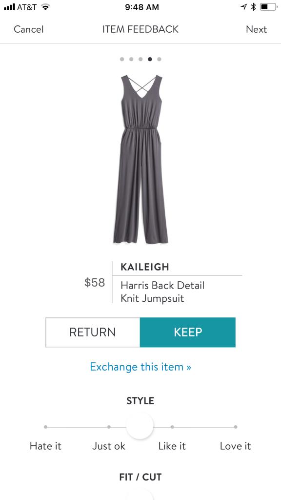 Kaileigh Harris Back Detail Knit Jumper