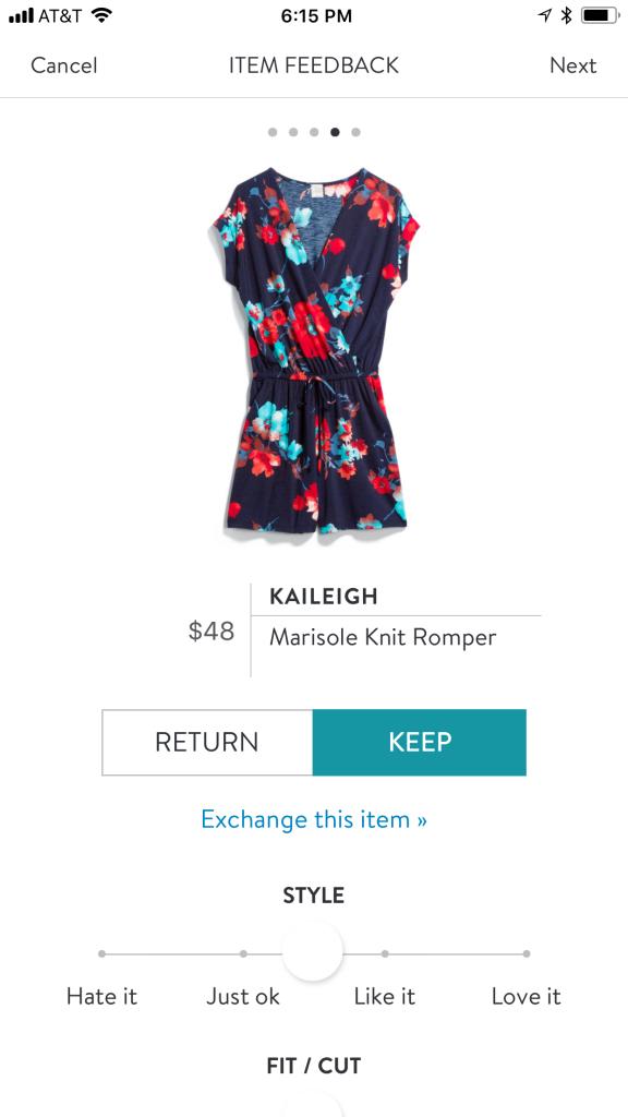 Kaleigh Marisole Knit Romper