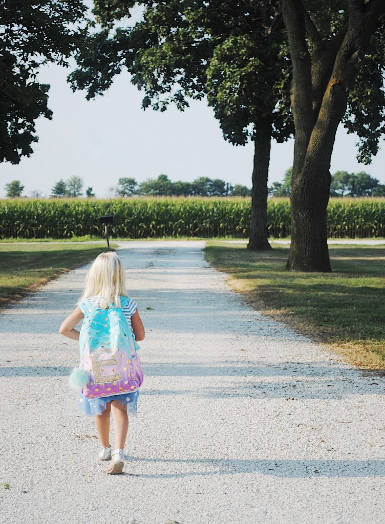 One Last Thing Before You Go: A Note To My Kindergartner