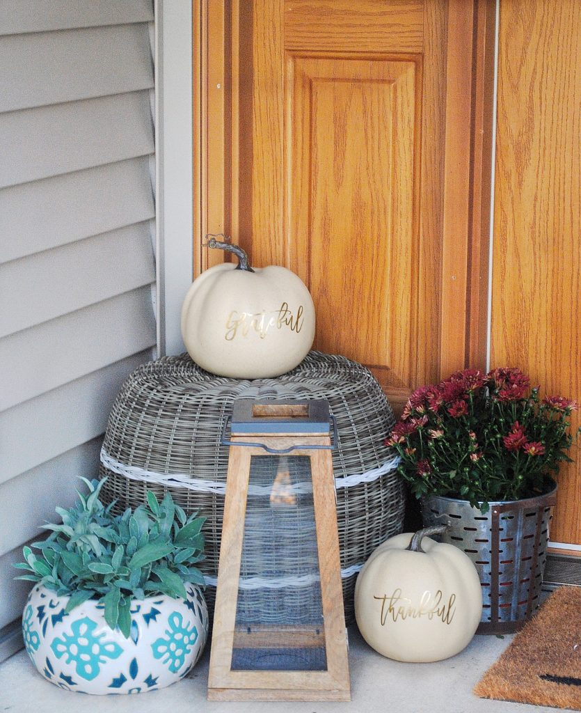 Fall Front Porch Decals