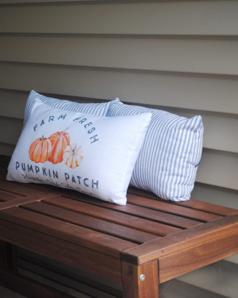 Fall Front Porch Pillows