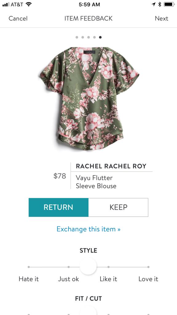 Rachel Rachel Roy Vayu Flutter Sleeve Blouse