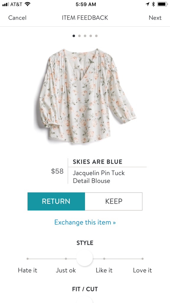 Skies Are Blue Jacquelin Pin Tuck Detail Blouse