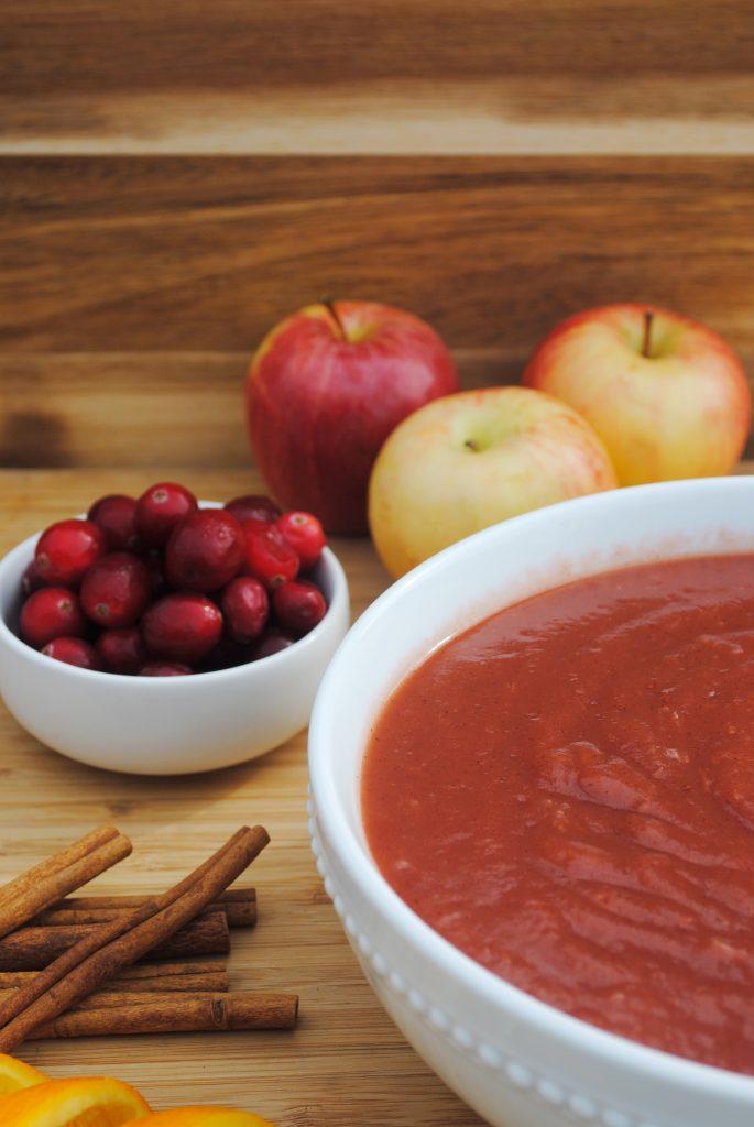 Instant Pot Cranberry Applesauce