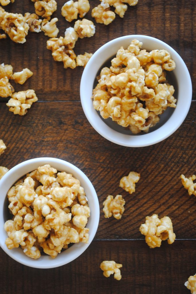 The Best Caramel Corn Snack