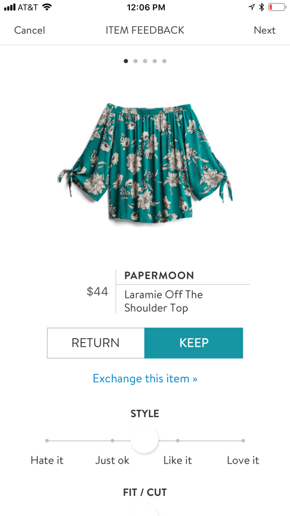 Papermoon Laramie Off The Shoulder Top