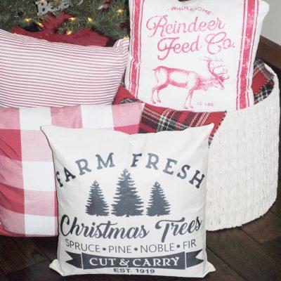 Top Ten Affordable Amazon Farmhouse Christmas Pillows
