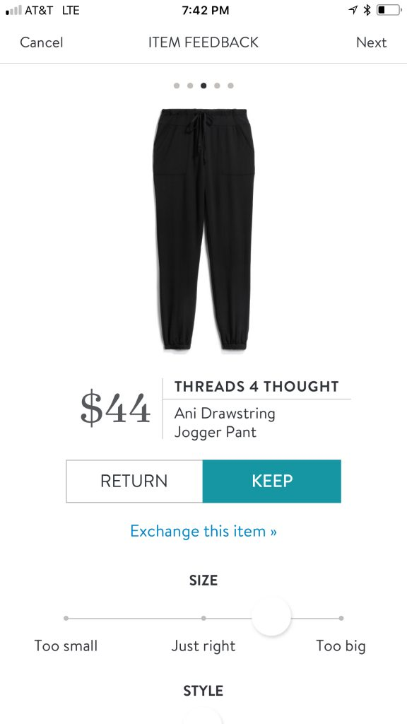 Threads 4 Thought Ani Drawstring Jogger Pant