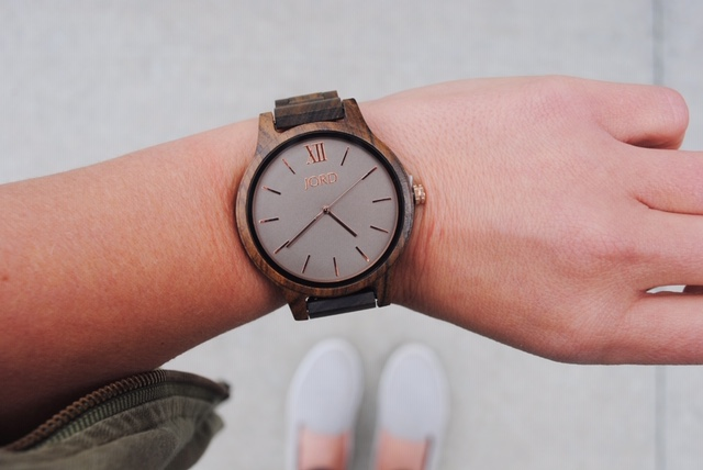 The Gift of Time. A JORD Watch Giveaway