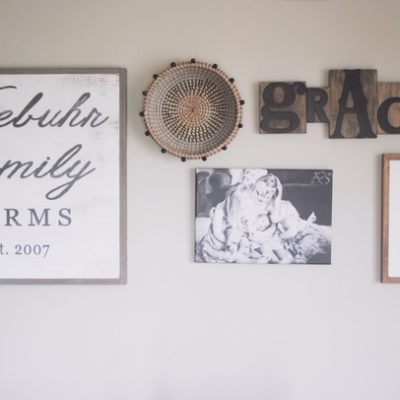 Farmhouse Kitchen Gallery Wall