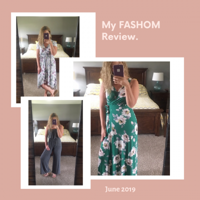 My Fashom Review: June 2019