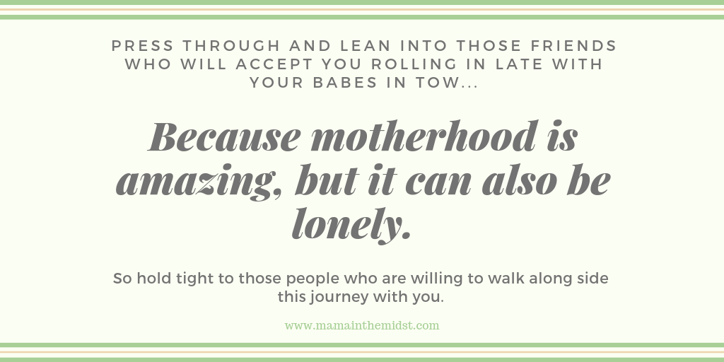 Friendship In Motherhood: Just Do