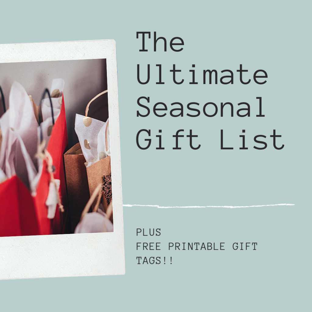 Ultimate Gift List