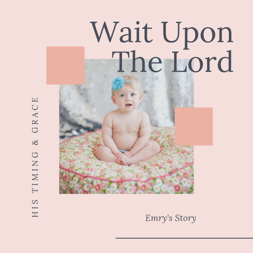 Wait Upon the Lord: His Timing & Grace