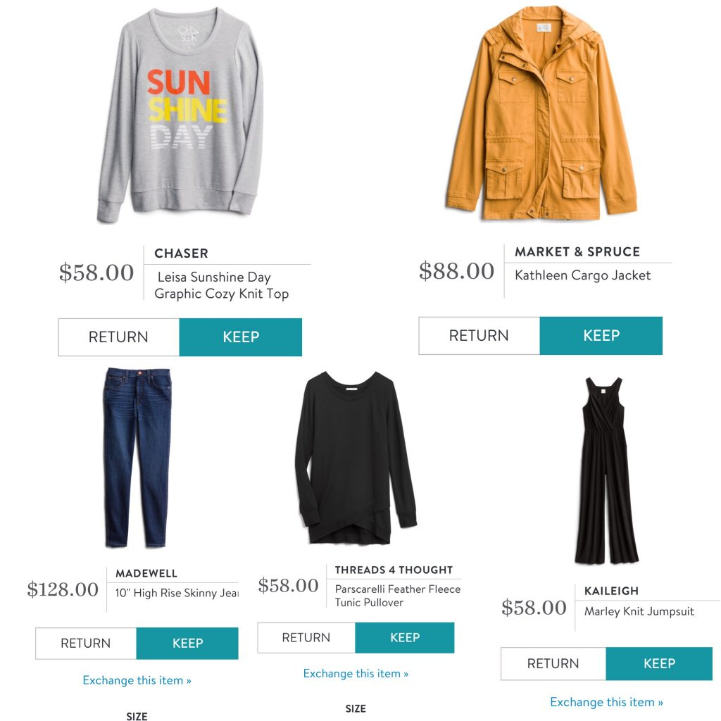 Stitch Fix Review: September 2019