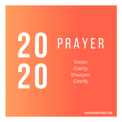 A prayer for 2020