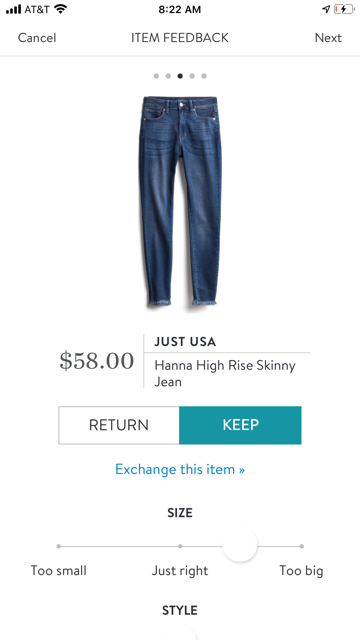 Just USA Hanna High Rise Skinny Jean