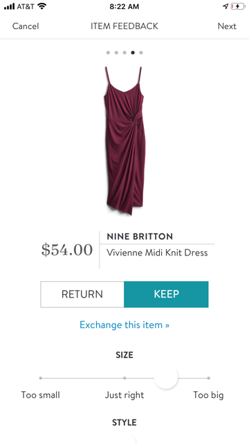 Nine Britton Vivienne Midi Knit Dress