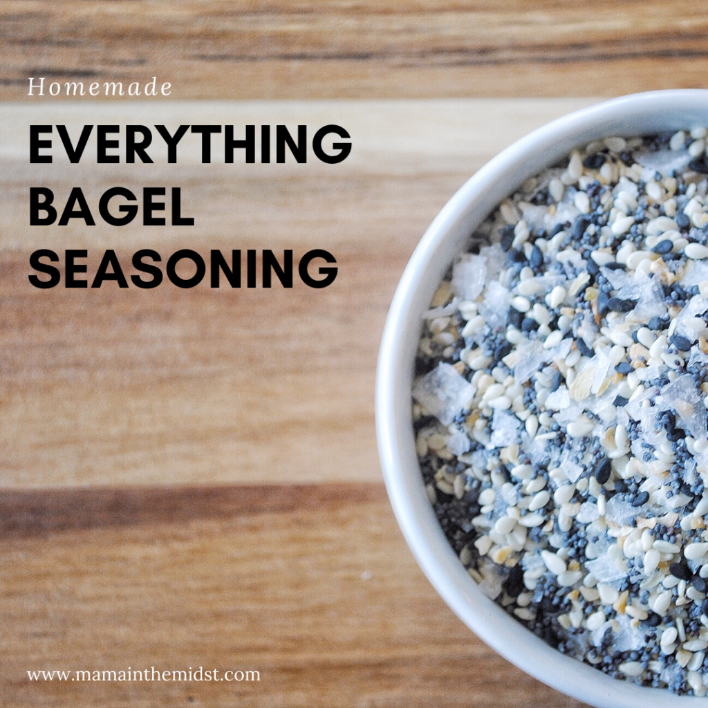 Homemade Everything Bagel Seasoning